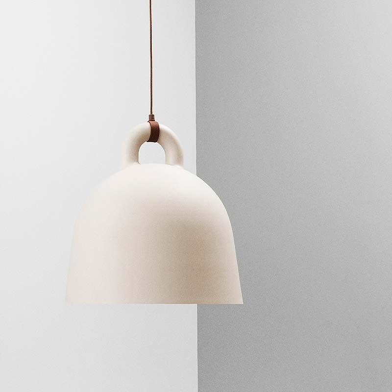 Normann Copenhagen Bell Lampe Small Sand-31