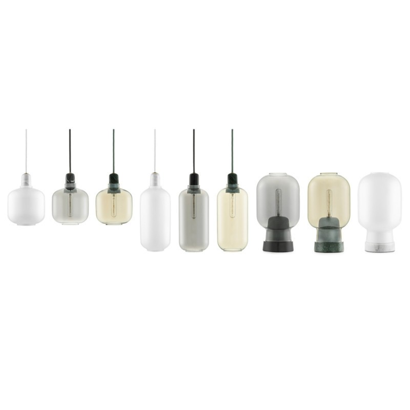 Normann Copenhagen Amp lampe Hvid Small-31