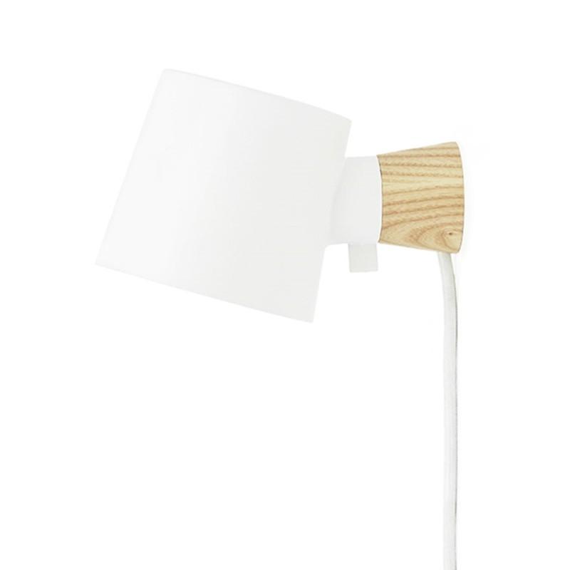Normann Copenhagen Rise Væglampe Hvid-31