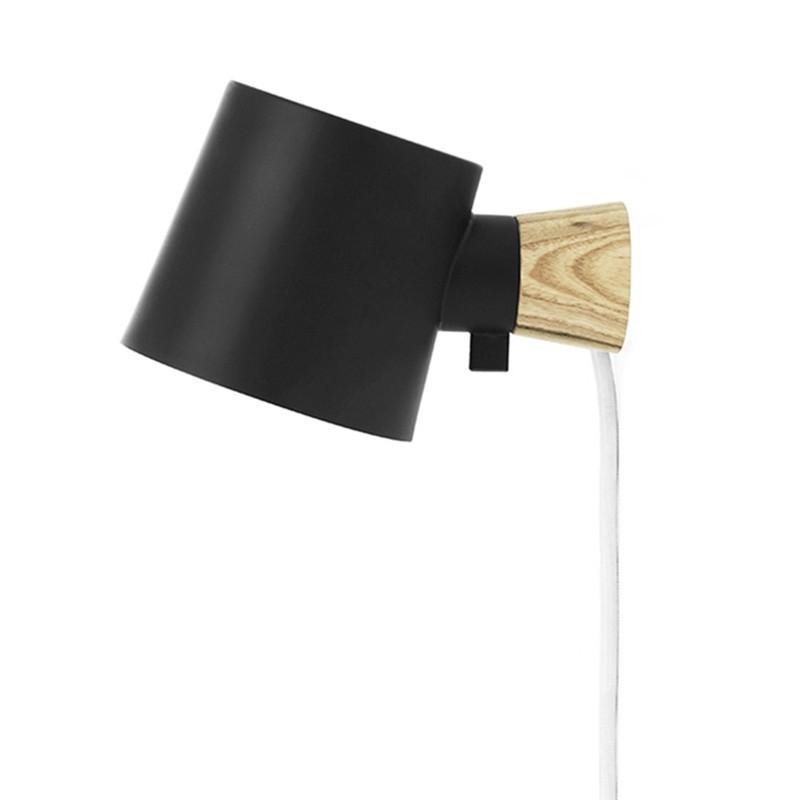 Normann Copenhagen Rise Væglampe Sort-31