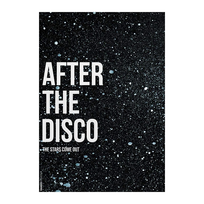 Paradisco Productions After The Disco 70x100 cm-31