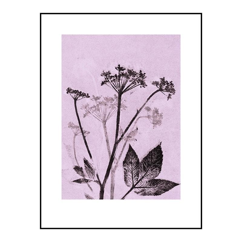 Pernille Folcarelli Groundelder Violet 30x40 cm-31