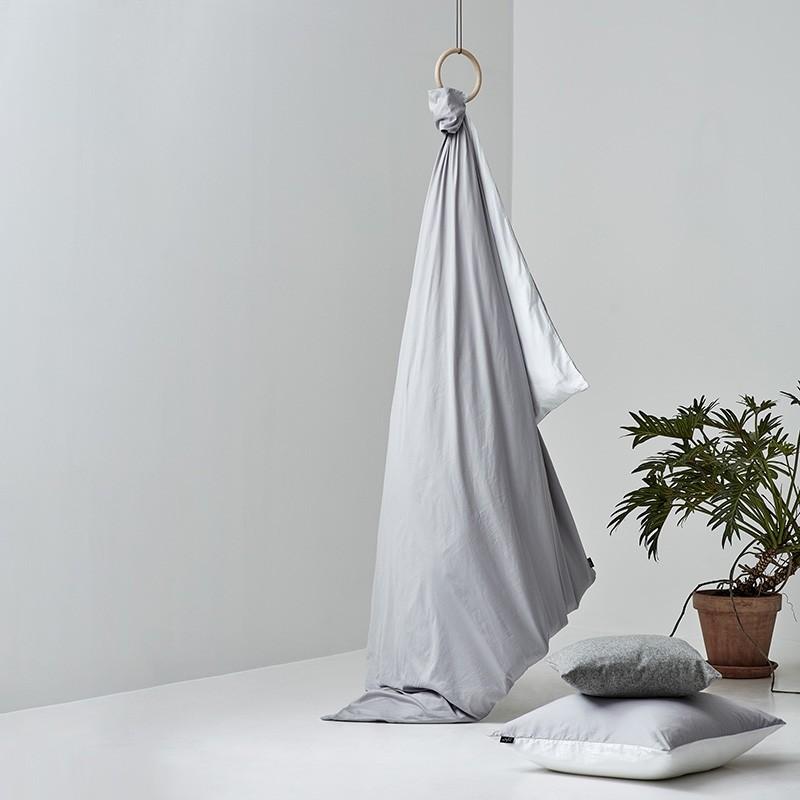 Pytt Living Sengetøj Basic Grå Dobbelt 200x220 cm-31