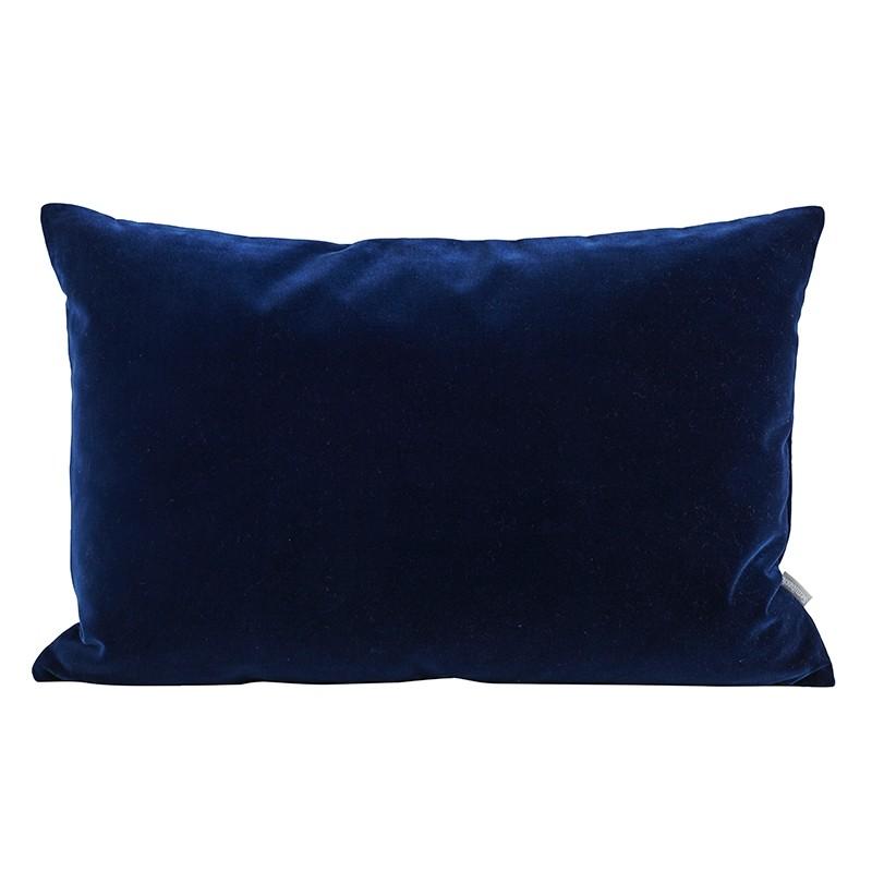Semibasic Pude Lush 40x60 cm Mørkeblå-31