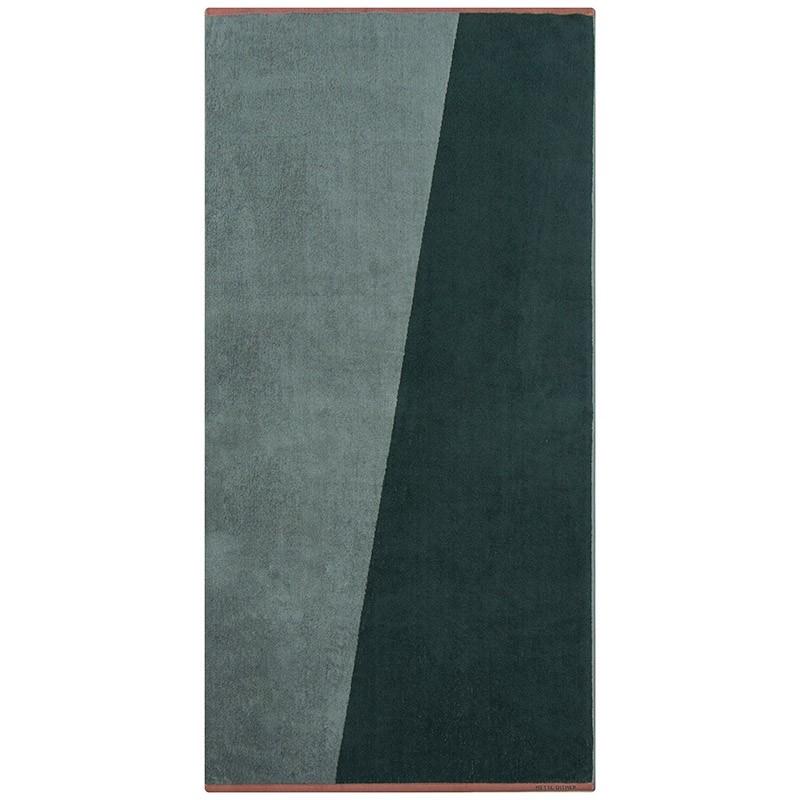 Mette Ditmer Badehåndklæde Shades Pine Green 70x140 cm-31