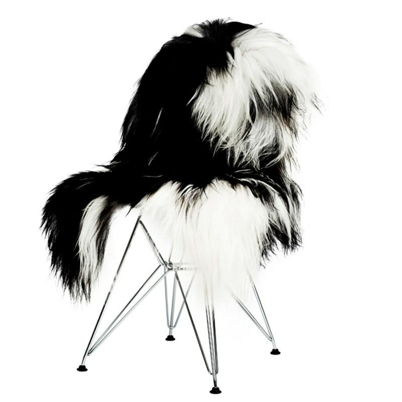 The Organic Sheep Islandske lammeskind Plettet Brun/Hvid-31
