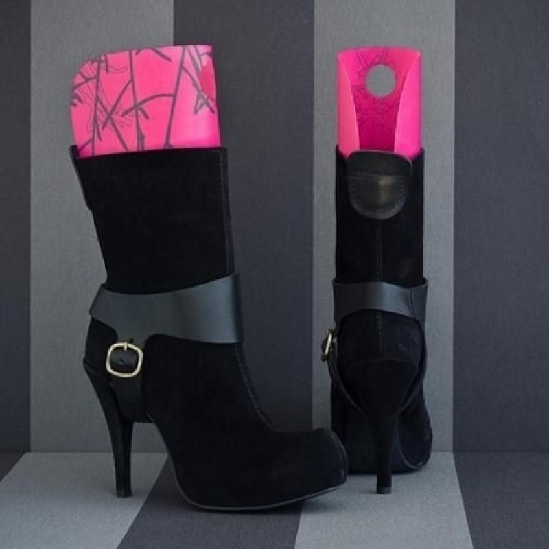Tica Copenhagen Boot Support Pink m. sølv grene-31
