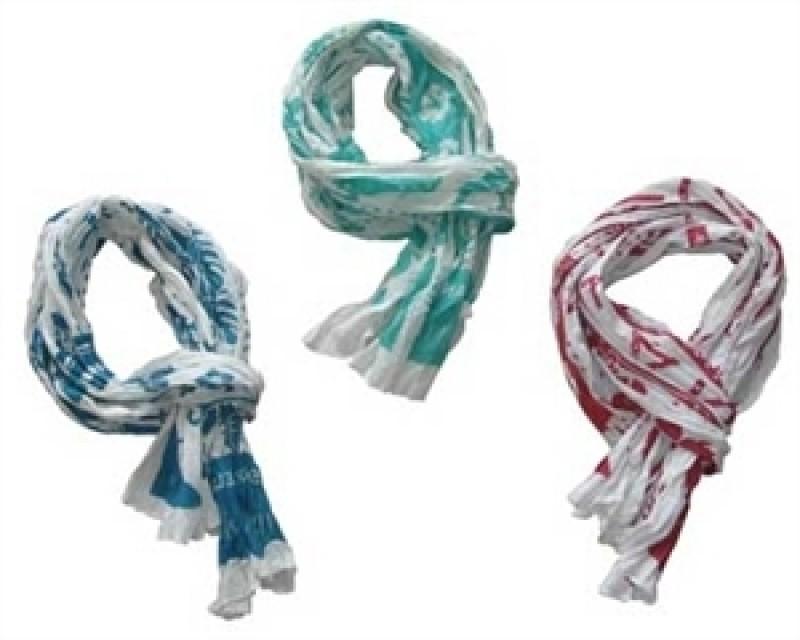 Tørklæder fra Eleanor Home Rød-31