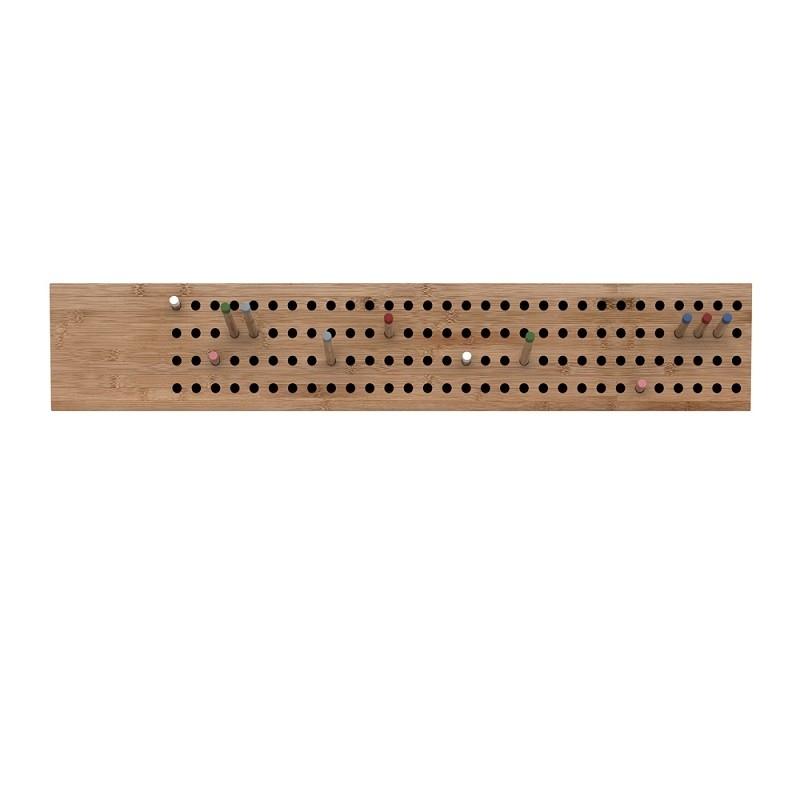 We Do Wood Knagerække Large Scoreboard Horisontal Natur-31