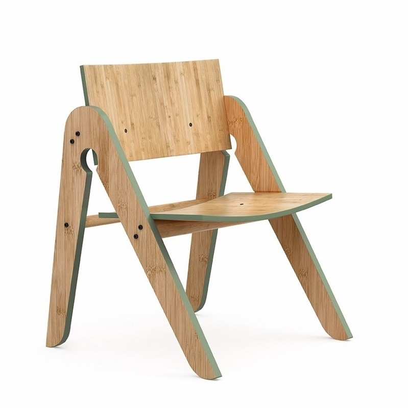We Do Wood Stol Lillys Chair Grøn-31