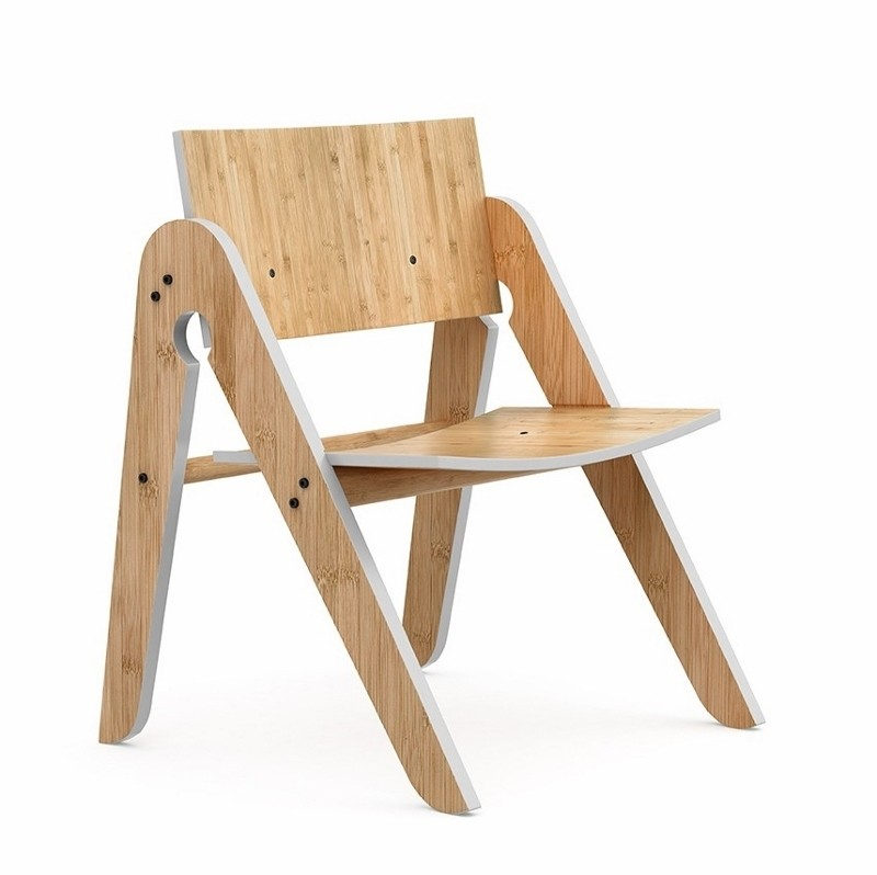 We Do Wood Stol Lillys Chair Lysegrå-31