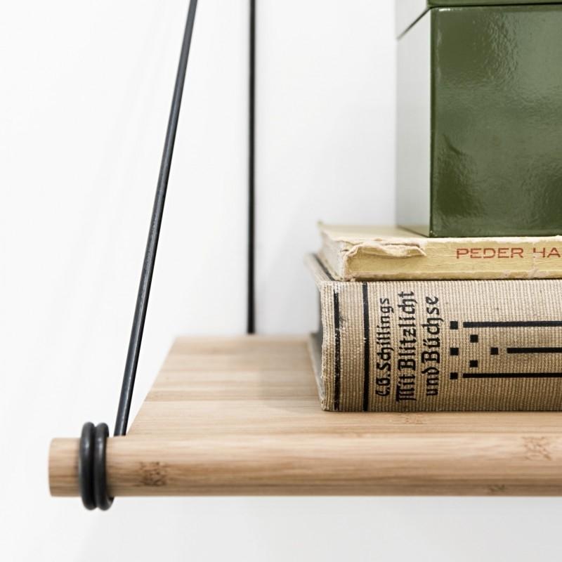 We Do Wood Hylde Loop Shelf Natur/ Sort-31