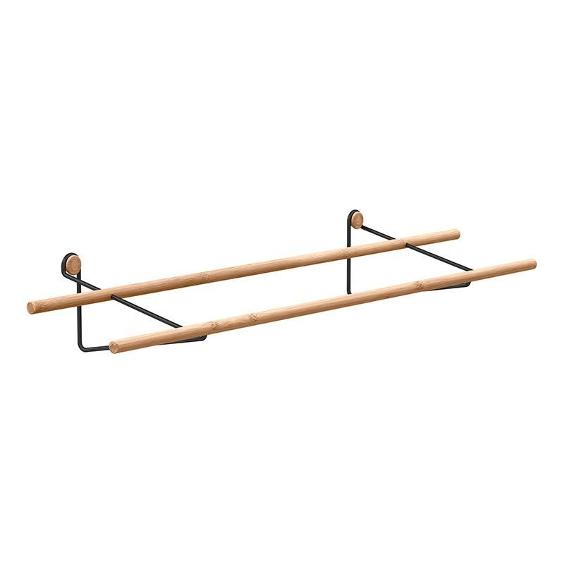 We Do Wood Skostativ Shoe Rack Bambus Natur/Sort-31