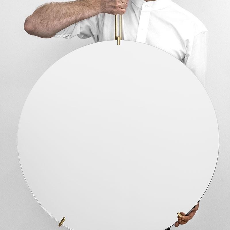 MoebeRundVgspejl70cmMessing-34