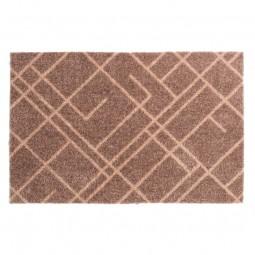 Tica Cph. Smudsmåtte m. Lines Sand/Beige 40x60cm-20