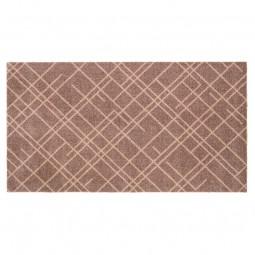Tica Cph. Smudsmåtte m. Lines Sand/Beige 67x120cm-20
