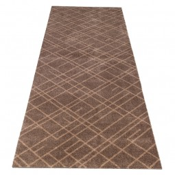 Tica Cph. Smudsmåtte m. Lines Sand/Beige 67x200cm.-20