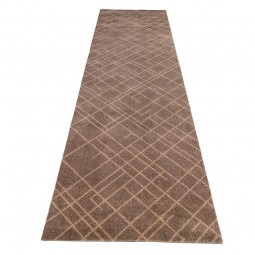 Tica Cph. Smudsmåtte m. Lines Sand/Beige 67x250cm.-20