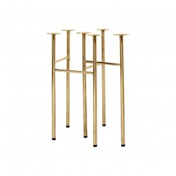 Ferm Living Mingle Bordbukke W48 Messing-20