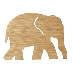 Ferm Living Børne Lampe Elephant Olieret Eg-20