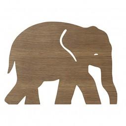 Ferm Living Børne Lampe Elephant Røget Eg-20