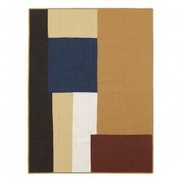 Ferm Living Shay Quilt Plaid Mustard 130x180 cm-20