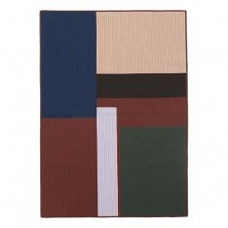 Ferm Living Shay Quilt Plaid Cinnamon 130x180 cm-20