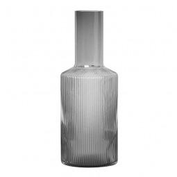 Ferm Living Ripple Glas Karaffel Smoke-20