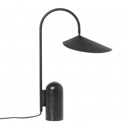 Ferm Living Arum Bordlampe Sort-20