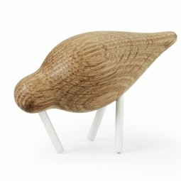 Normann Copenhagen Shorebird Small Hvid-20