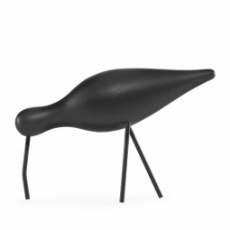 Normann Copenhagen Shorebird Large Sort/Sort-20