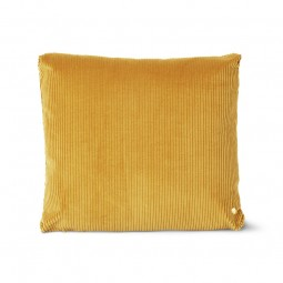 Ferm Living Corduroy Pude Mustard 45 x 45 cm-20