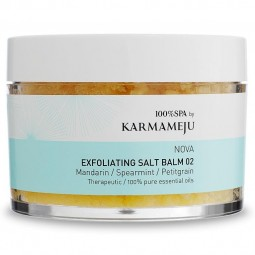 Karmameju Exfoliating Salt Body Scrub NOVA 02-20