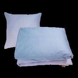 Pytt Living Sengetøj Waves Blå/Pink 140x220 cm-20