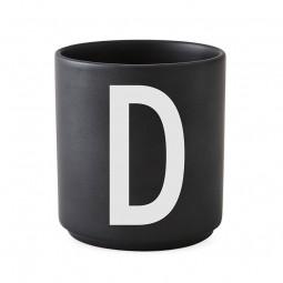 Design Letters Porcelæn Kop Sort-20