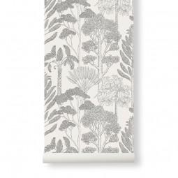 Ferm Living Katie Scott Tapet Trees Off-White-20