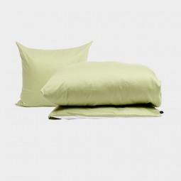 Pytt Living Sengetøj Basic Pale Grøn 140x200 cm-20