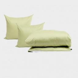 Pytt Living Sengetøj Basic Pale Grøn Dobbelt 200x200 cm-20