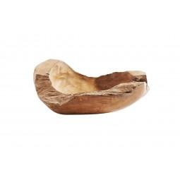 Muubs Rustik skål i teaktræ 30 cm-20