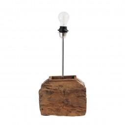 Muubs Lampefod Unika i teaktræ Small-20