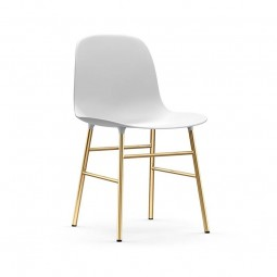 Normann Copenhagen Stol Form Chair Messing-20