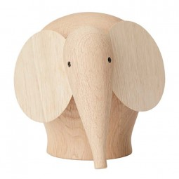 Woud Nunu Elefant Mellem-20