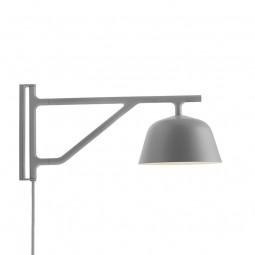 MUUTO Ambit Wall Væglampe Grå-20