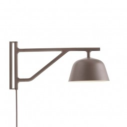 MUUTO Ambit Wall Væglampe Taupe-20