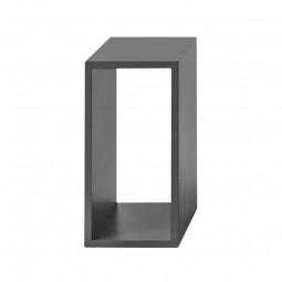 MUUTO Stacked Reolsystem 2.0 Small Mørkegrå u/ Bagbeklædning-20