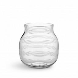 Kähler Omaggio Vase Glas H170 Klar-20