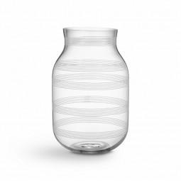 Kähler Omaggio Vase Glas H280 Klar-20