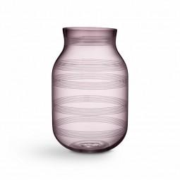 Kähler Omaggio Vase Glas H280 Blomme-20