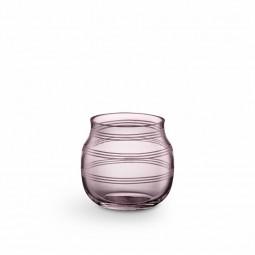 Kähler Omaggio Glas Fyrfadsstage Blomme-20