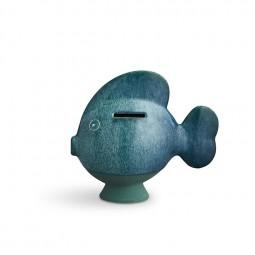 Kähler Sparedyr Fisk Mørkegrøn-20